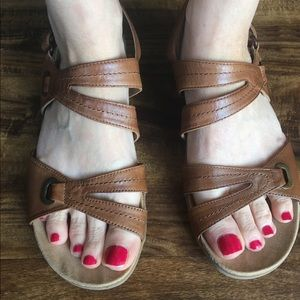 Bare Traps Cute Leather Sandals 8.5